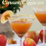 Caramel Apple-tini