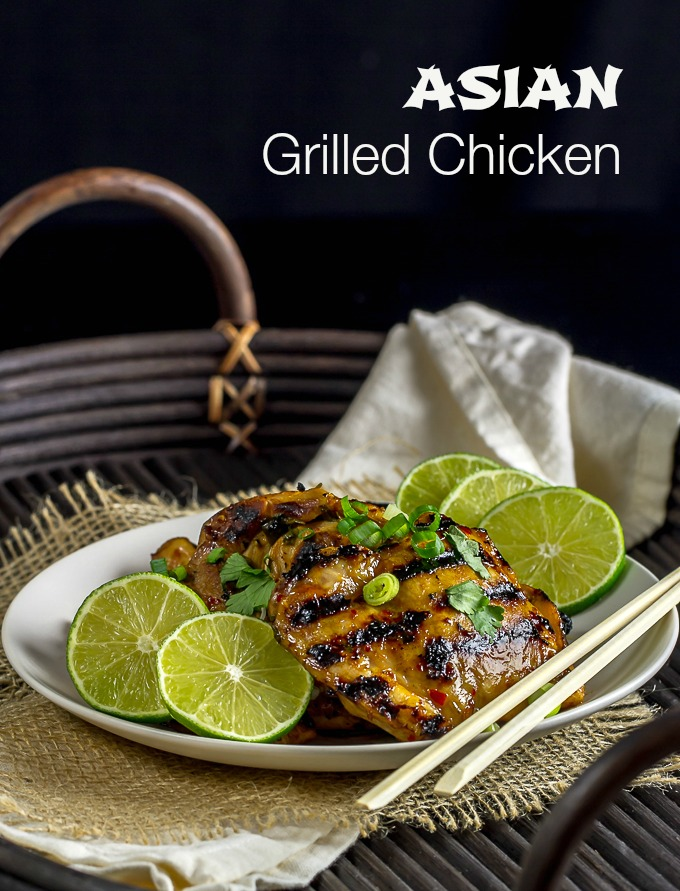 Asian Grilled Chicken - I'm Bored, Let's Go...