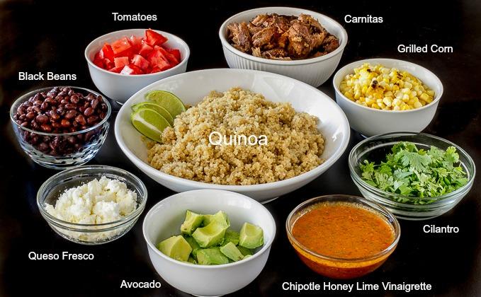 Mexican Quinoa Bowl With Chipotle Vinaigrette I M Bored