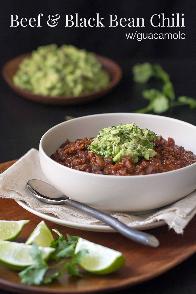 Beef and Black Bean Chili - I'm Bored, Let's Go...