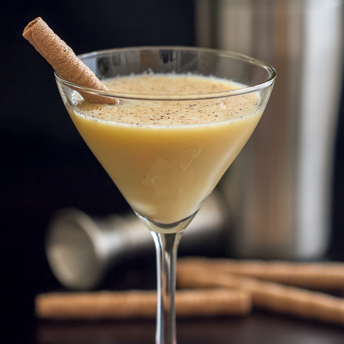 how to make alcoholic eggnog with store bought