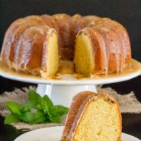 Bailey's Irish Cream Bundt Cake