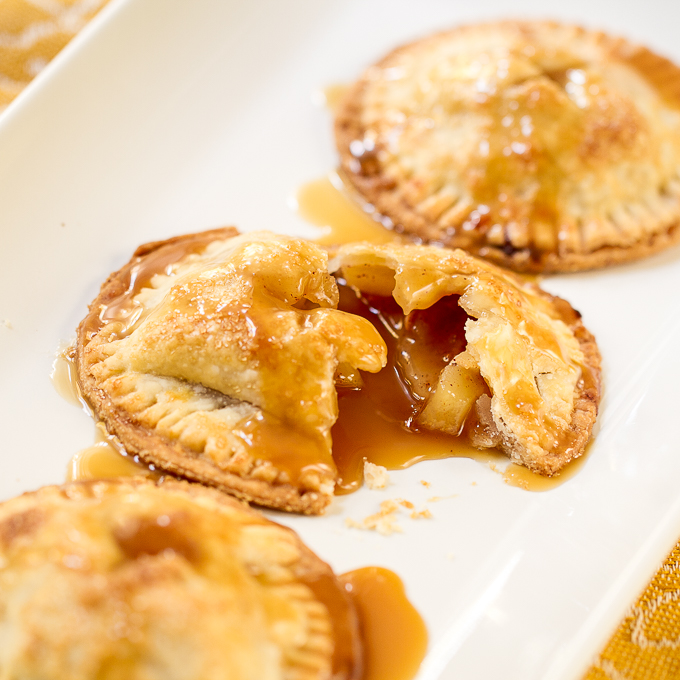 Salted Caramel Apple Handpie_